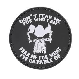 Tru Spec 5-Star  PVC MORALE PATCH - DON'T FEAR ME