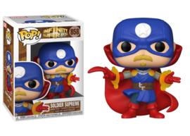 FUNKO POP figure Marvel Infinity Warps Soldier Supreme (858)