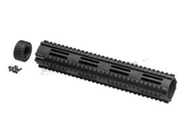 MADBULL Dragon Fire CNC Handguard 12.5 Inch (BLACK)