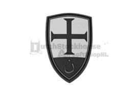 JTG Crusader Shield Rubber Patch - Blackops