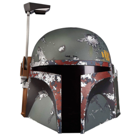 HASBRO Star Wars The Black Series Boba Fett Premium Electronic Helmet
