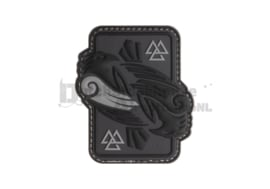 JTG Odins Raven Rubber Patch - Grey