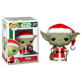 FUNKO POP figure Star Wars Holiday Santa Yoda (277)