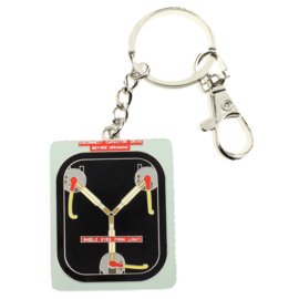 Back to the Future Fluzo Condenser metal key chain