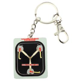 Back to the Future Fluzo Condenser metal key chain