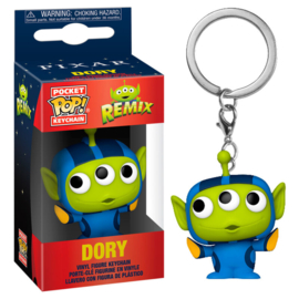 FUNKO Pocket POP keychain Disney Pixar Alien Remix Dory