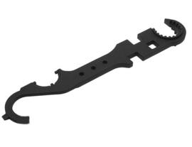 BEGADI Enhanced M4 / M16 / AR Multi Steel Tool (Black)