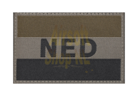 CLAW GEAR Netherlands Flag Patch - RAL7013 (DARK)
