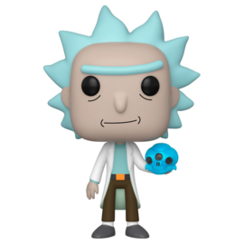 FUNKO POP figure Rick & Morty Rick with Crystal Skull (692)