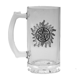 Supernatural Anti Possesion glass