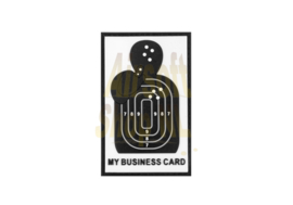 JTG My Business Card Rubber Patch