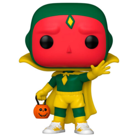 FUNKO POP figure Marvel WandaVision Vision Halloween (716)