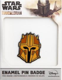 Star Wars The Mandalorian Logo Boba Fett ENAMEL pin badge