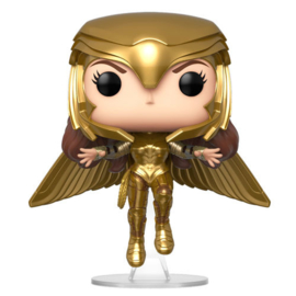 FUNKO POP figure DC Wonder Woman 1984 Wonder Woman Gold Flying Pose (324)
