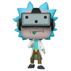 FUNKO POP figure Rick and Morty Gamer Rick - Exclusive (741)