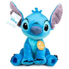 Disney Stitch soft plush toy with sound - 30cm