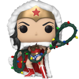 FUNKO POP figure DC Holiday Wonder Woman with Lights Lasso (354)