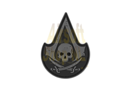 JTG Assassin Skull Rubber Patch - Swat