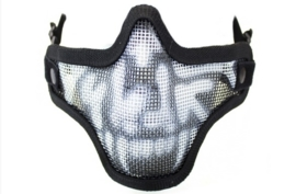 NUPROL Mesh Lower Face Mask Shield Skull (3 COLORS)