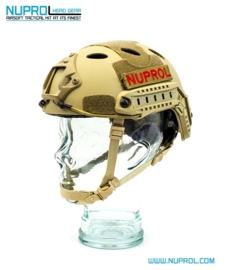 NUPROL Fast Railed Helmet (TAN)