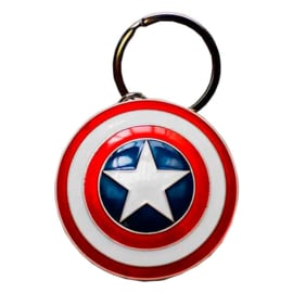 Marvel Captain America Shield metal keychain - 5cm
