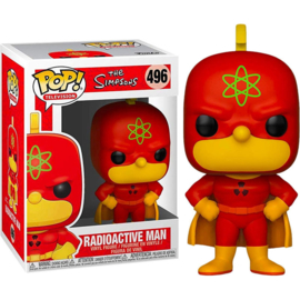 FUNKO POP figure Simpsons Radioactive Man (496)