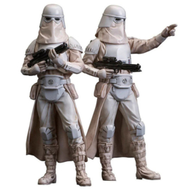 Set 2 figures Star Wars Snowtrooper ArtFX+