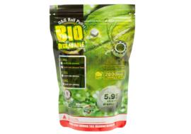 G&G 0.28g Bio Precision BB's 2000rds - White