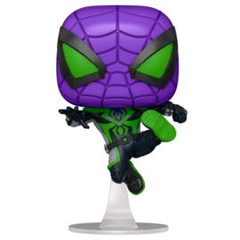 FUNKO POP figure Marvel Spiderman Miles Morales Purple Reign Suit - Metallic (839)