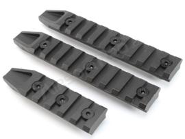 E&C Metal rails for Keymod foregrips - 3 pcs