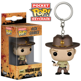 FUNKO Pocket POP Keychain The Walking Dead Rick Grimes