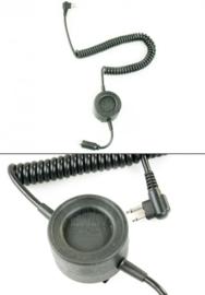 Cavalvy Tactical Swat Round PTT (2 Pin Motorola)