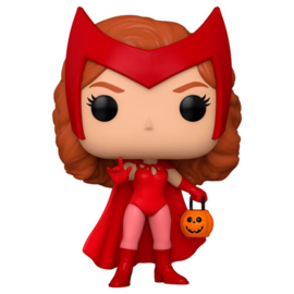FUNKO POP figure Marvel WandaVision Wanda Halloween (715)