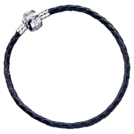 Harry Potter black leather charm bracelet - 19cm