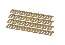G&G  Ladder Rail Protector Set 4pcs (FDE)