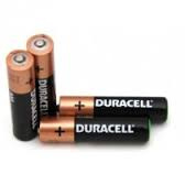 AAA DURACELL Mini Penlite Power Alkaline Battery  - 4pcs