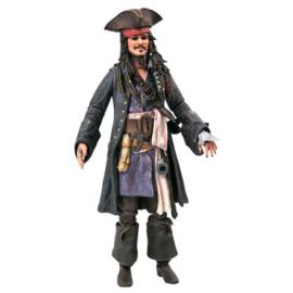 Disney Pirates of the Caribbean Jack Sparrow figure - 18cm