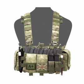 Warrior Elite Ops MOLLE Falcon Chest Rig (A-TACS FG)
