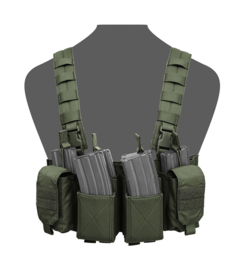 Warrior Elite Ops MOLLE Pathfinder Chest Rig (OLIVE DRAB)
