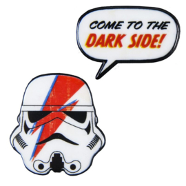 Star Wars Stormtrooper set 2 broochs