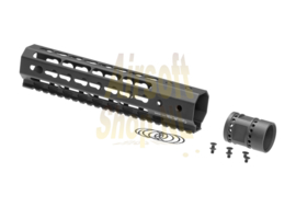 ARES OCTARMS 9 Inch Keymod Handguard Rail Set (BLACK)