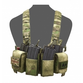 Warrior Elite Ops MOLLE Pathfinder Chest Rig (A-TACS FG)