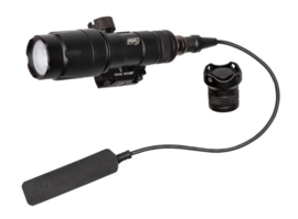 ASG Type Strike Systems Flashlight, Tactical, 280-320 lumens, Battery incl. (BLACK)
