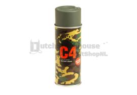 C4 Mil Grade Color Spray Paint / Verf (Foliage Green)