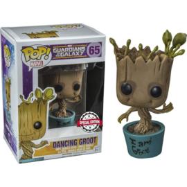 FUNKO POP figure Marvel Guardians of the Galaxy Dancing I Am Groot - Exclusive (65)