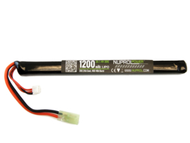 NUPROL 1200mah 7.4v Lipo 20c SLIM Stick Type Battery
