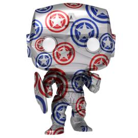 FUNKO POP figure Marvel Patriotic Age Captain America - Exclusive + protective case (32)