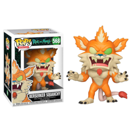 FUNKO POP figure Rick & Morty Berserker Squanchy (568)