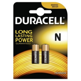 LR1 / N  DURACELL 1.5V Long Lasting power Battery  - 2pcs