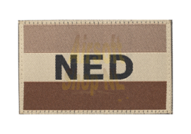 CLAW GEAR Netherlands Flag Patch - DESERT (Tan)